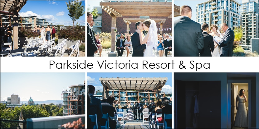 Parkside Victoria Resort and Spa - Victoria BC Urban Wedding Venue
