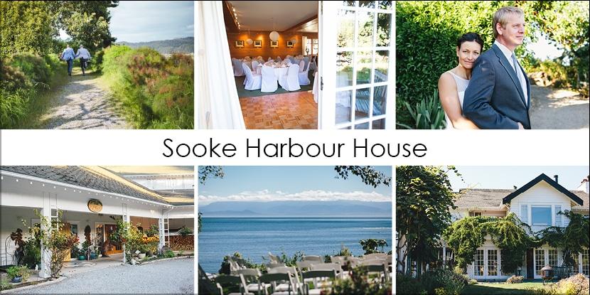 Sooke Harbour House - Greater Victoria Oceanfront Wedding Venue