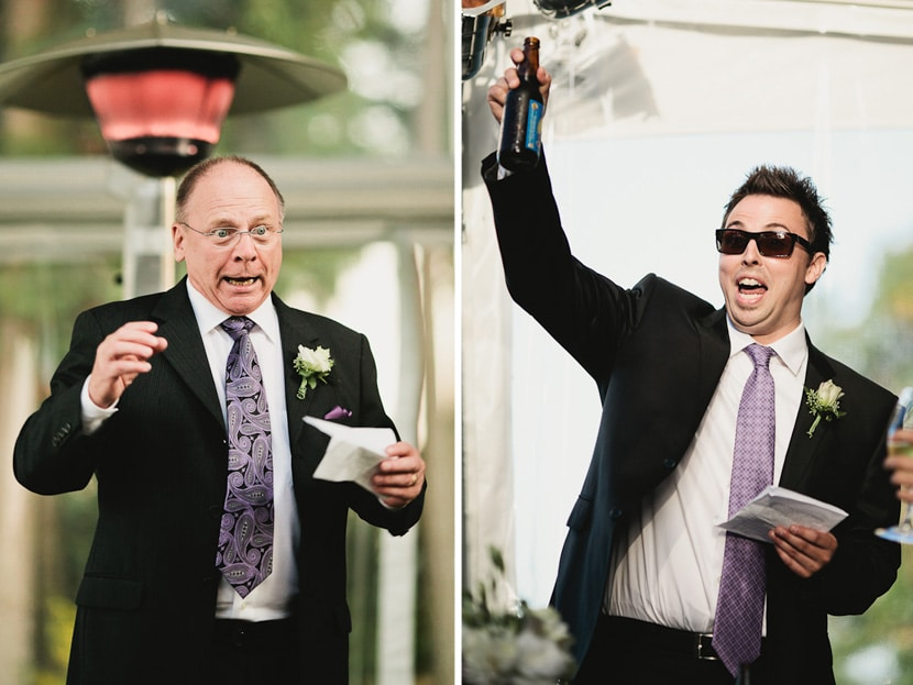 funny expressive wedding reception toasts