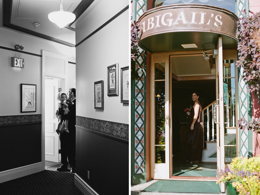 wedding photojournalist at abigail's hotel